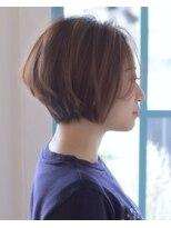 [バレーチェア]横顔美人なシースルーバングショートボブ☆
