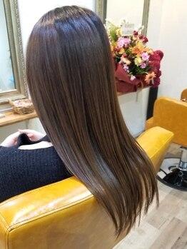 レイ(ray)の写真/【NEW OPEN/立花駅3分】カウンセリングを重要視◎一人ひとりの髪質にあったサラ艶ストレートを創り上げる◇