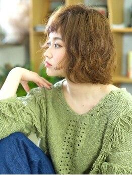 モク ヘアーサロン(moku hair salon)の写真/ショートボブが人気!モチが良くお手入れ簡単♪シルエットにこだわるカットは、自宅でも簡単に再現できる♪