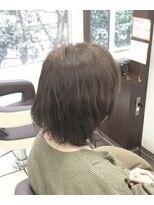 グリーン レーベル 川崎店(Green label)カラー×アッシュグレイ【川崎/川崎駅】