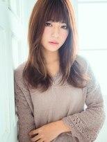 アリーズヘアー 心斎橋OPA(allys hair)自然な透け感セミロングプチレイヤー☆och_i
