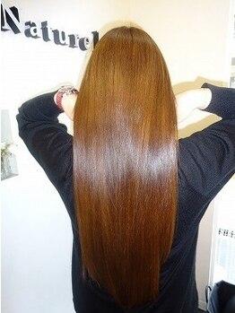 ヘアエステサロン ナチュール(Nature)の写真/クセ毛/パサつき/ひろがりなどの髪のお悩みは、《Nature》におまかせ!髪質改善メニューを豊富にご用意◎