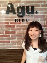 アグ ヘアー ライド 難波店(Agu hair ride)石澤 弥生