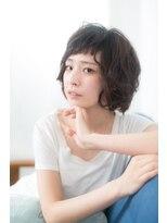 マユリ 相模大野(Mayuri)バング短めレイヤーボブ