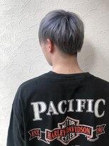 アイリーヘアデザイン(IRIE HAIR DESIGN)【IRIE HAIR赤坂】メンズ人気ハイトーン×グレーアッシュ