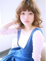 ヘアー ミッション 伊丹店(hair Mission)ひし形フォルムパーマスタイル