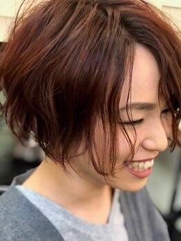 ヘアーフレッシュラブ(Hair Fresh Love)の写真/巧みなカット技術で細部にまでこだわり抜いたトレンドスタイルに♪【カット+カラー新規¥7810~】が人気!