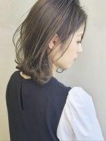 ソース ヘア アトリエ 京橋(Source hair atelier)【SOURCE】カーキグレージュ