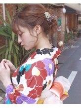ネオリーブアピ 池袋店(Neolive api)【池袋 Neolive】ボブアレンジ 浴衣着付け 5720円