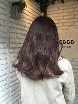 ステップバイステップココ(Step by Step CoCo)Pink long