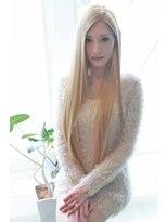 ヘア サロン アナスタシア(Hair Salon ANASTASIA)ミルクティーカラー スーパーロング