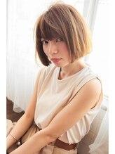 アーク ヘアーアンドメイクアンドネイル(Ark hair&make&nail)【Ark】大人かわいい切りっぱなしボブ◎内巻きスタイル
