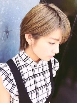 ティースタイル(hair salon t-style)の写真/【似合わせカット¥3450→¥3000】再現力抜群の似合わせカットで「自分らしく、似合う髪型」に!