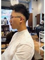 アイリーヘアデザイン(IRIE HAIR DESIGN)【IRIE HAIR赤坂】ビジネスマン人気スタイルフェードカット