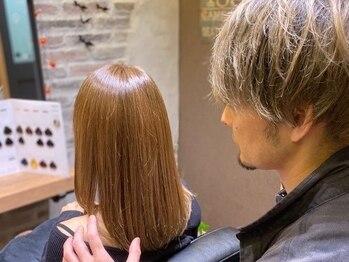 ヘアーサロン セレンディピィティー(hair salon SERENDIPITY)の写真/サロン帰りのスタイルが続く☆トレンドに敏感な大人女子を魅了する一流デザインは【SERENDIPITY】で♪