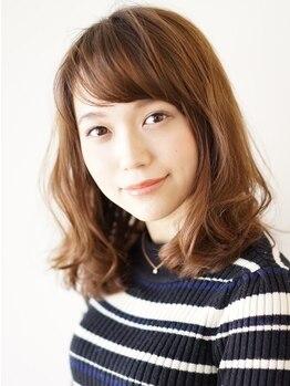 """エアーオオミヤ(air OMIYA)の写真/いつもと同じブラウンではなく、明るい髪色も暗い髪色も楽しめる♪【air】で""""-5歳の髪質""""へ…。"""