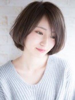 美容室 スージー 草加松原(Suzy)の写真/髪質・骨格に合わせたカット手法で、再現性に差が出やすいショート系スタイルも丁寧に作り上げます★