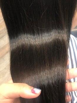 ルッソカナン(Lusso canaan)の写真/【究極の髪質改善】くせやうねりで悩んでいる人は、是非試して感じて欲しい!