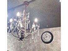 ティエラ 西新店(TIERRA)の雰囲気(シャンデリアが可愛いです。 西新店)