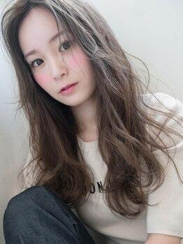 ヘアーセンス 新小岩店(hair SENSE)の写真/モロッカンフルカラー¥3500/モロッカンカラー+Cut¥3900★最新MENU導入で本物志向の女性にも綺麗と満足を♪
