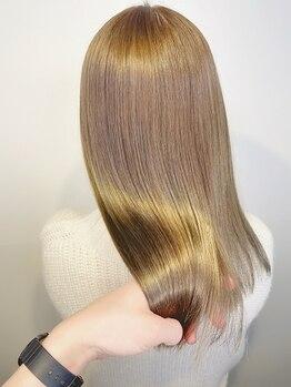 アンサム 経堂店(UNSOME)の写真/【TOKIO/ハホニコ/リンゲージ導入店】髪の芯から艶めく美髪が叶う!カラーやパーマと組み合わせても◎