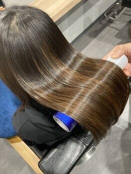 アミーベルレーヴ(AMI a BELLE Reve)の写真/【髪質改善専門店】100万人が感動のAMI a BELLE Reveのストレートエステ!どんなクセ・ダメージもお任せ!