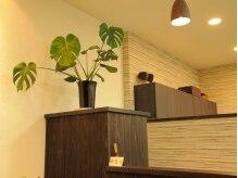 デザイン オフ ゆるり(Design of yururi)の雰囲気(落ち着いた雰囲気のサロンとなっております。)