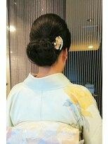 ファルコヘア 立川店(FALCO hair)およばれネープシニヨン