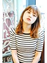リーズ(Lise)【ゆるふわ外ハネボブ】/【イルミナカラー】【ブリーチ】