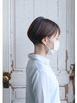 【マスク着用ドライカット】刈り上げボブ♪