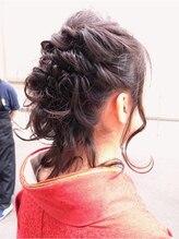 ヘアーアンドメイク ピーチ(Hair&Make Peach)和服アップヘア