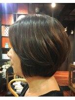 エンヘアー(en hair)どの角度から見ても綺麗なショートボブ◎