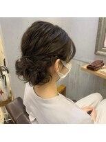【担当yumi】アップヘアスタイル