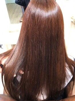 ヘアーサロン ビセラ(Vicella)の写真/【個室空間あり☆】オトナ女性の髪と頭皮を労りながらしっかり染まる♪自然由来のカラーが充実☆