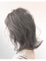 オーブ ヘアー カルネ 松戸店(AUBE HAIR carnet)【AUBE HAIR】シアグレー_外ハネボブ