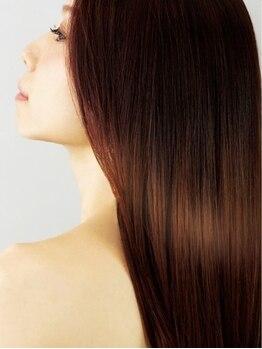 """メリッサ ヘアーアンドスパ(melissa hair&spa)の写真/【紫外線ダメージに◎】髪や頭皮も""""お肌と同じく""""ケアが必要。美髪エステで栄養チャージ!しっとり艶髪へ"""