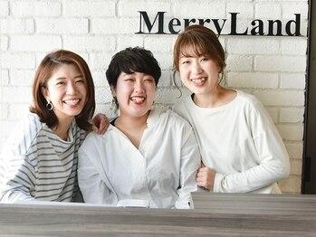 メリーランド 自由が丘(MerryLand)の写真/気さくな女性スタッフばかりだから何でも相談しやすい◎女性ならではの目線で似合わせスタイルをご提案!