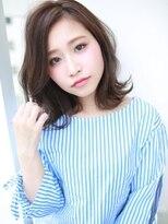斜めバングミディ☆温感スタイル