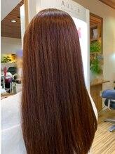 ヘアメイクソラ(Hair make SORA)人気の暖色ピンクベージュカラー