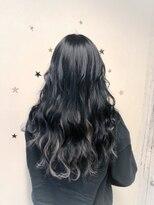 黒髪deインナーカラー #黒髪#ロング
