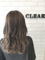 ヘアーアンドメイククリアー(Hair&Make CLEAR)グレイパールグラデーション