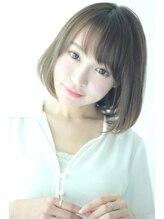 フィックスビューティーサロン エイル(Fix Beauty Salon aile)~aile~ワンカールボブ×グレージュカラー