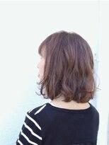 ユニカ ヘアー(UNICA hair)尾道市 グラデーションカラー 人気 UNICA グレージュ
