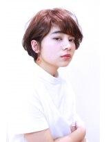 レンジシアオヤマ(RENJISHI AOYAMA)メリハリマッシュショート☆