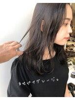 ラノバイヘアー(Lano by HAIR)【lano by hair 銀座】フリンジウェーブココアブラウンカラー