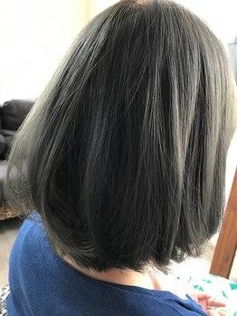 ヘアーメイクロータス(HairMake Lotus)の写真/【カウンセリング充実!】「似合う髪色が分からない…」そんなあなたにもピッタリの髪色をご提案♪
