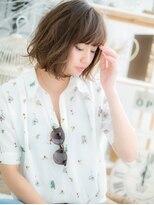 ■mod's越谷12-7★■色っぽかわいい★小顔スイングカールミディ