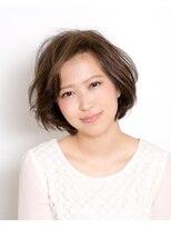 ムード 金沢文庫 hairdesign&clinic mu;dハニーベージュで柔らかく!王道ボブ