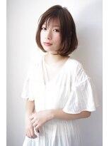 ヘアリゾート リアン(hair resort Lien)大人かわいいヌーディーボブ ☆Lien☆ 倉田