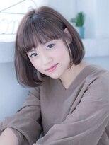 インシ(h&m insi)【insi松永】大人可愛いワンカール ボブ